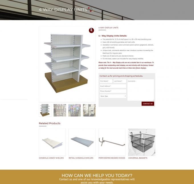 Shelving Depot screen shot