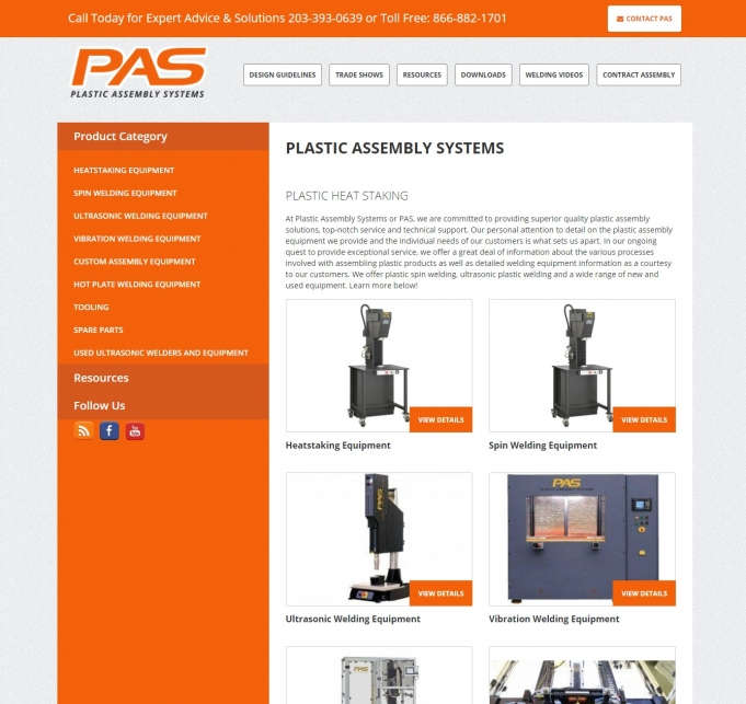 Plastic Assembly Systems screen shot