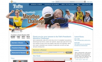 Tufts University - Marathon Challenge